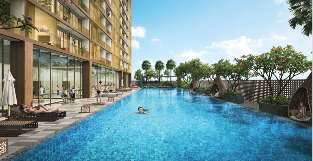 the peak cambodia apartments